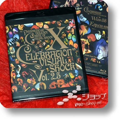 X - VISUAL SHOCK Vol.2.5 CELEBRATION (Blu-ray Reissue 2018 / X Japan)-0