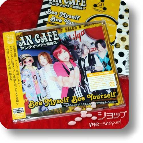 AN CAFE - Bee Myself Bee Yourself LIM.CD+DVD +Bonus-Fotosticker! (Re!cycle)-0