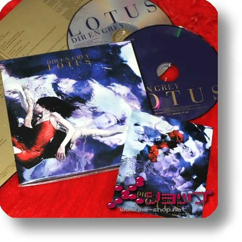 DIR EN GREY - LOTUS (lim.CD+DVD+Sticker) (Re!cycle)-0