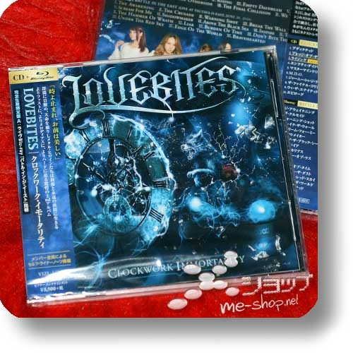 LOVEBITES - Clockwork Immortality (lim.CD+Live-Blu-ray A-Type)-0
