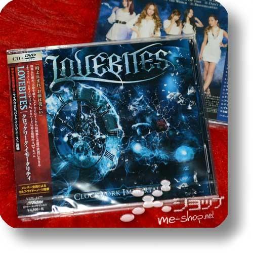 LOVEBITES - Clockwork Immortality (lim.CD+Live-DVD B-Type)-0