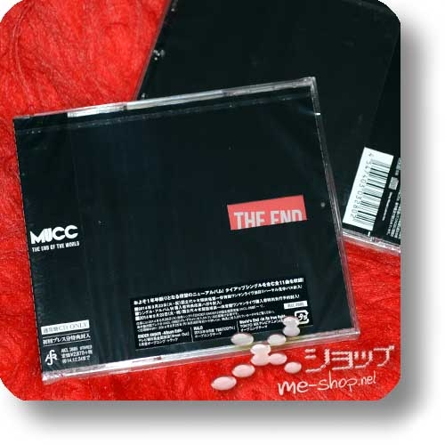MUCC - THE END OF THE WORLD (Re!cycle)-0