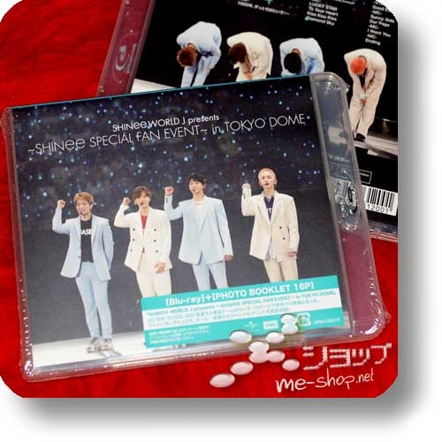 SHINee - SHINee WORLD J presents ~SHINee Special Fan Event~ in TOKYO DOME (Blu-ray+Photo Booklet) +Bonus-Postkartenset!-25756