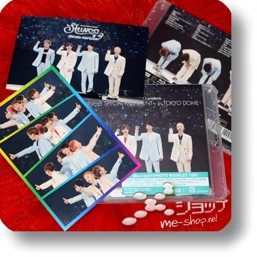 SHINee - SHINee WORLD J presents ~SHINee Special Fan Event~ in TOKYO DOME (Blu-ray+Photo Booklet) +Bonus-Postkartenset!-0