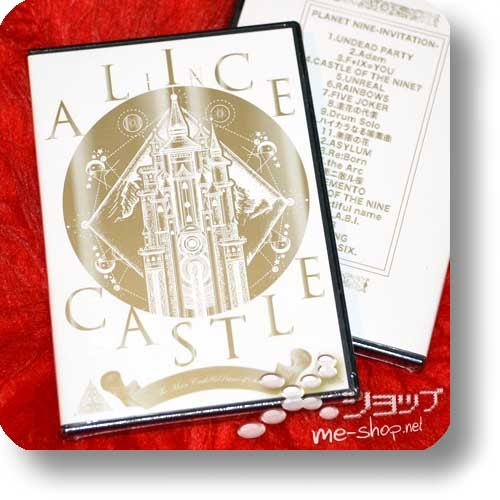 A9 - ALICE IN CASTLE -Hoshi no ouji to tsuki no shiro- 14th Anniversary Live (DVD) (Alice Nine)-0