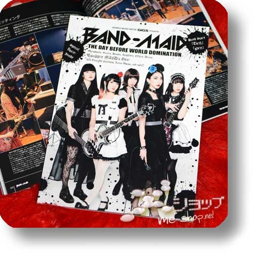 GiGS Presents: BAND-MAID - THE DAY BEFORE WORLD DOMINATION (inkl. 2 Bandscores!)-0