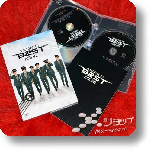 B2ST (BEAST) - WELCOME TO B2ST AIRLINE (lim.Box 3DVD+Photobook / orig.Koreapressung / HIGHLIGHT) (Re!cycle)-0
