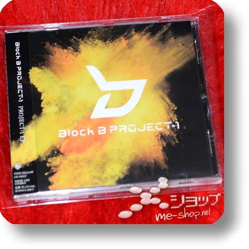 BLOCK B - PROJECT-1 EP (TYPE YELLOW / feat. Chanmina, w-inds) (Re!cycle)-0