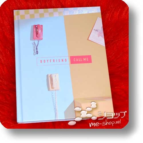 BOYFRIEND - CALL ME (lim.CD+DVD+Photobook) (Re!cycle)-0