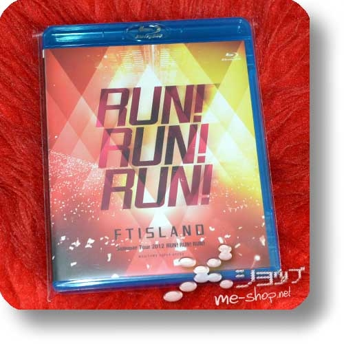 FTISLAND - Summer Tour 2012 +RUN! RUN! RUN! @SAITAMA SUPER ARENA (Live-Blu-ray / F.T.Island) (Re!cycle)-0
