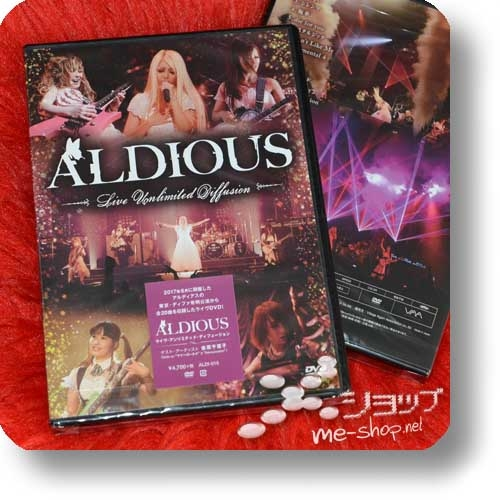 ALDIOUS - Live Unlimited Diffusion (Live-DVD)-0