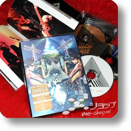 THE GAZETTE - Tour 11-12 Venomous Cell Finale OMEGA (lim.Box 3DVD+Photobook) (Re!cycle)-0