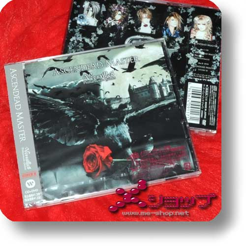 VERSAILLES - ASCENDEAD MASTER (lim.CD+DVD Type II inkl.Original-Invitation) (Re!cycle)-0