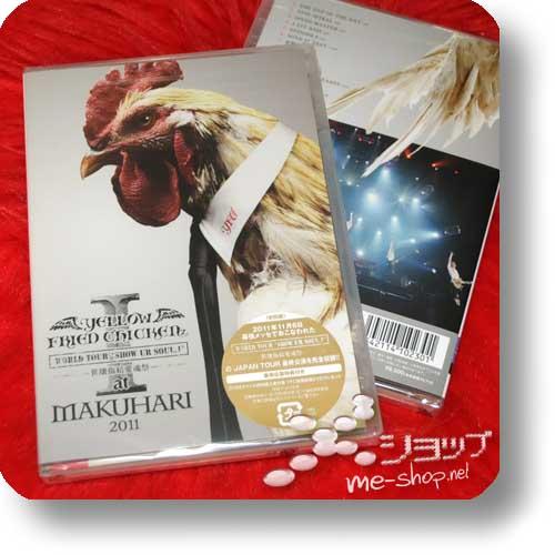 YELLOW FRIED CHICKENz - WORLD TOUR * SHOW UR SOUL I * sekai shouketsu aikon matsuri at MAKUHARI 2011 (lim.DVD) (Re!cycle)-0