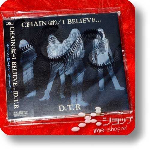 "D.T.R - CHAIN / I BELIEVE... (8cm/3""-CD / Taiji Sawada / X Japan) (Re!cycle)-0"