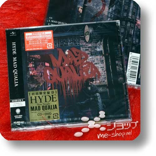HYDE - MAD QUALIA (lim.CD+DVD B-Type)-0