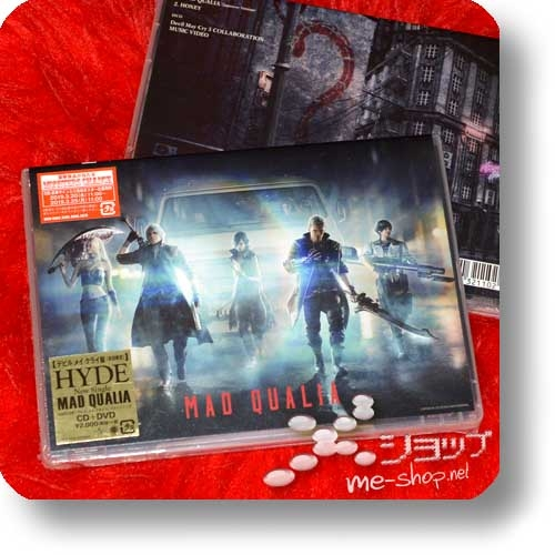 HYDE - MAD QUALIA (lim. Devil May Cry ban CD+DVD)-0