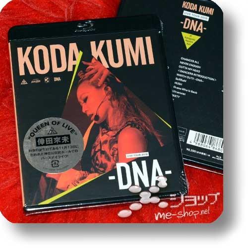 KUMI KODA - LIVE TOUR 2018 -DNA- (Blu-Ray)-0