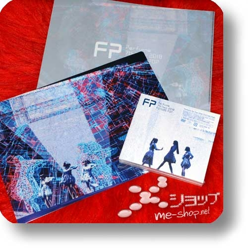 PERFUME - 7th Tour 2018 FUTURE POP (lim.2Blu-ray+Photobook+Sticker) +Bonus-Clearfile!-0