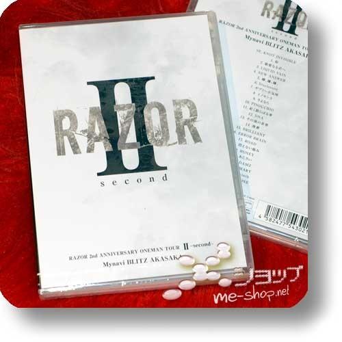 RAZOR - 2nd ANNIVERSARY ONEMAN TOUR II -second- Mynavi BLITZ AKASAKA (DVD)-0