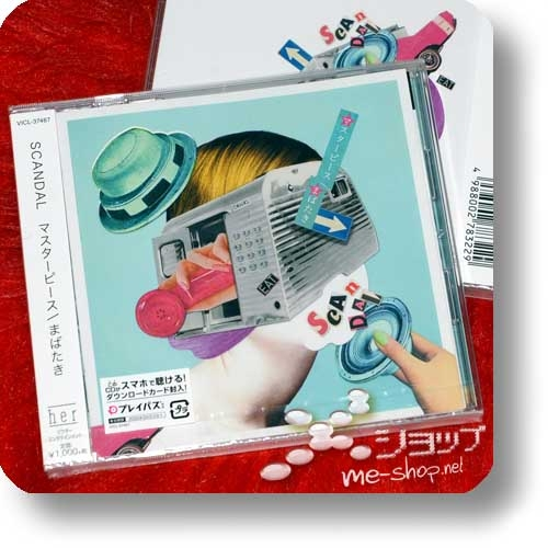 SCANDAL - Masterpiece/Mabataki (inkl.Bonustrack!)-0