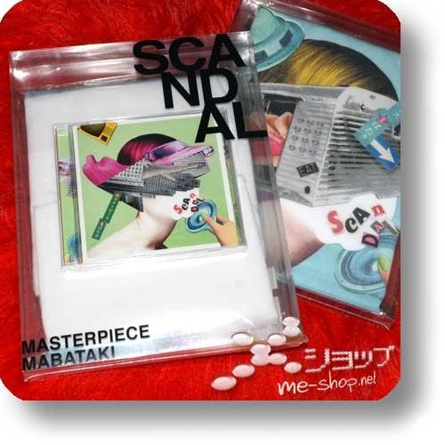 "SCANDAL - Masterpiece/Mabataki (lim.Box ""B-Type"" CD+T-Shirt)-0"