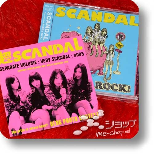 """SCANDAL - R-GIRL's ROCK! (1.Press inkl.""""VERY SCANDAL""""-Extrabooklet) (Re!cycle)-0"""