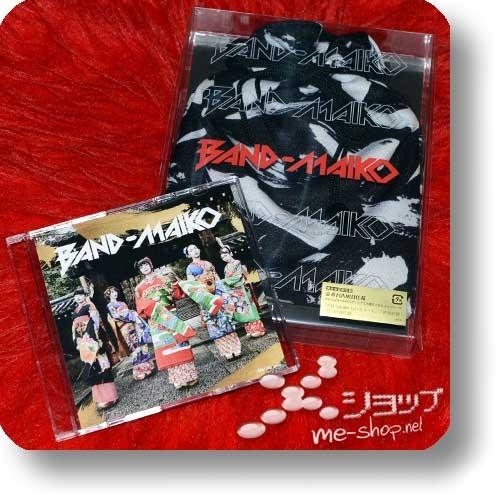 BAND-MAIKO - BAND-MAIKO (lim.Box CD+DVD+2-way-bag+Stickerset / BAND-MAID) +Bonus-DVD!-0