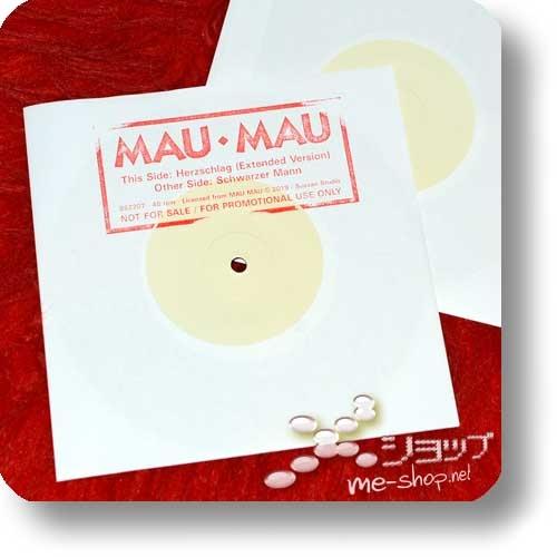 """MAU MAU - KRAFT + AUF WIEDERSEHEN (180g White Vinyl 2LP Reissue 2019 / lim./num.300!) +exklusive Bonus-7""""!-26722"""