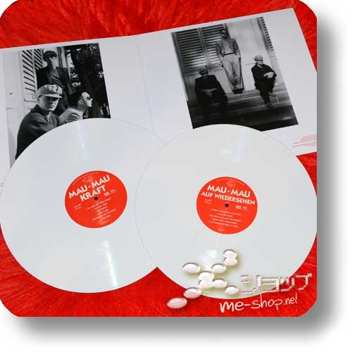 """MAU MAU - KRAFT + AUF WIEDERSEHEN (180g White Vinyl 2LP Reissue 2019 / lim./num.300!) +exklusive Bonus-7""""!-26726"""