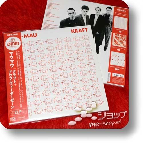 """MAU MAU - KRAFT + AUF WIEDERSEHEN (180g White Vinyl 2LP Reissue 2019 / lim./num.300!) +exklusive Bonus-7""""!-26725"""