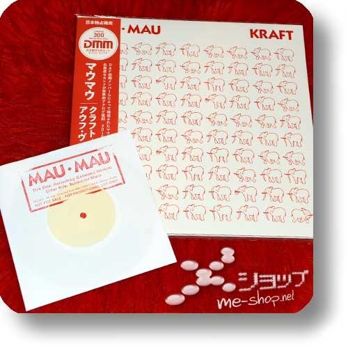 """MAU MAU - KRAFT + AUF WIEDERSEHEN (180g White Vinyl 2LP Reissue 2019 / lim./num.300!) +exklusive Bonus-7""""!-0"""