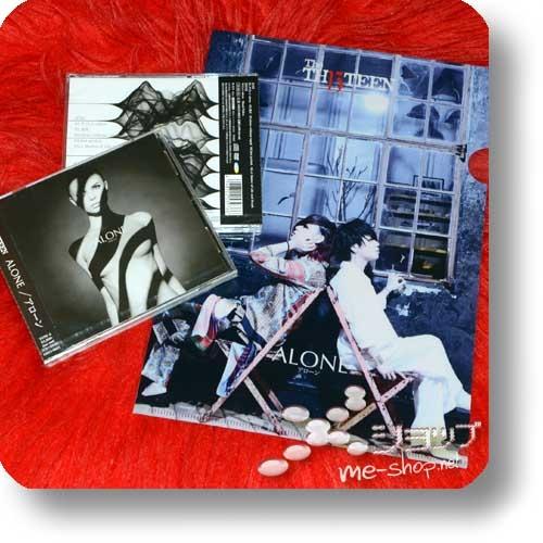 THE THIRTEEN - ALONE (LIM.CD+DVD A-Type) +Bonus-Clearfile! (TH13TEEN / Sadie) -0