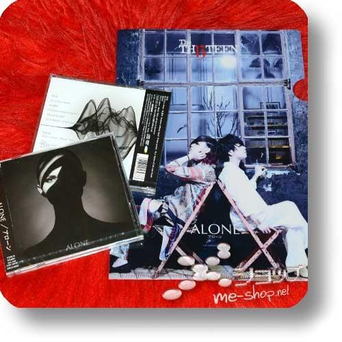THE THIRTEEN - ALONE (LIM.CD+DVD B-Type) +Bonus-Clearfile! (TH13TEEN / Sadie) -0