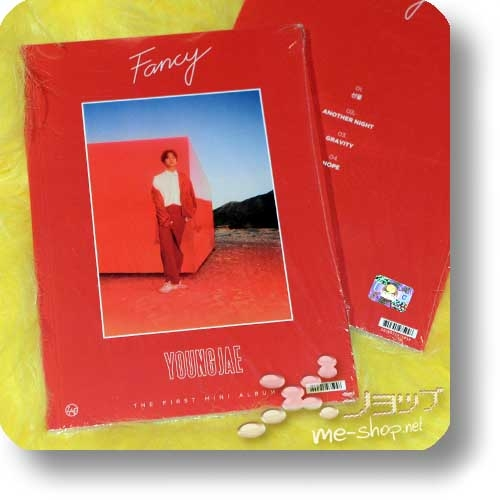 YOUNGJAE - THE FIRST MINI Album Fancy (CD+Photobook / ORIG.KOREAPRESSUNG / B.A.P)-0