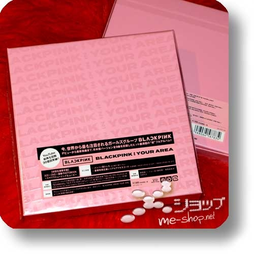 BLΛƆKPIИK - BLACKPINK IN YOUR AREA (Japan 1st Album / lim.Box 2CD+Live-DVD+Photobook+Tradingcard)-0