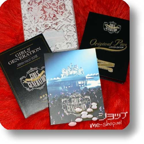 GIRLS' GENERATION - Japan First Tour (lim.Live-Blu-ray-Boxset inkl.Photobook+10-tlg. Metal Pin-Set!) (Re!cycle)-0