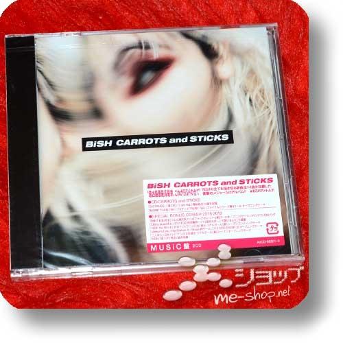 BiSH - CARROTS and STiCKS (lim.CD+Bonus-CD)+Bonus-Promoposter!-27207