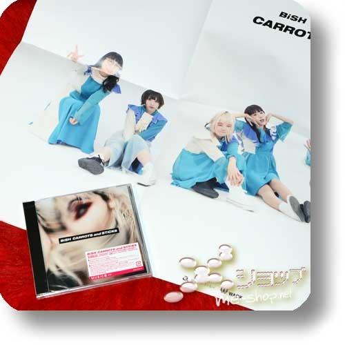 BiSH - CARROTS and STiCKS (lim.CD+Bonus-CD)+Bonus-Promoposter!-0