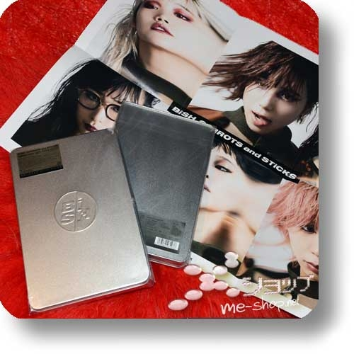 BiSH - CARROTS and STiCKS (lim. METAL BOX CD+Bonus-CD+Blu-ray+Photobook)+Bonus-Promoposter!-0