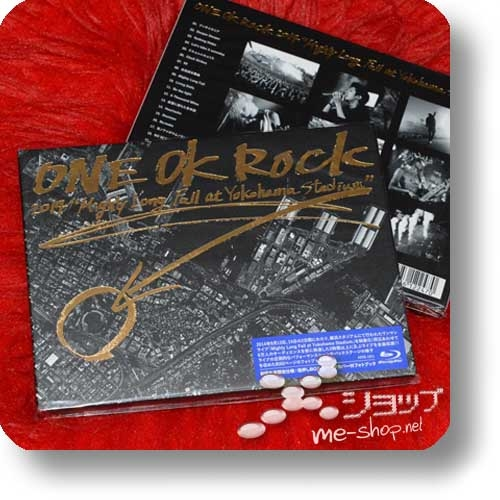 "ONE OK ROCK - 2014 ""Mighty Long Fall at Yokohama Stadium"" (Blu-ray+60s.Photobook!)-0"