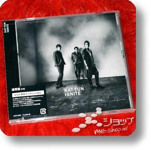KAT-TUN - IGNITE (inkl.Bonustrack!)-0