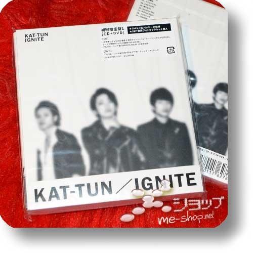 KAT-TUN - IGNITE (LIM.CD+DVD Type 1)-0