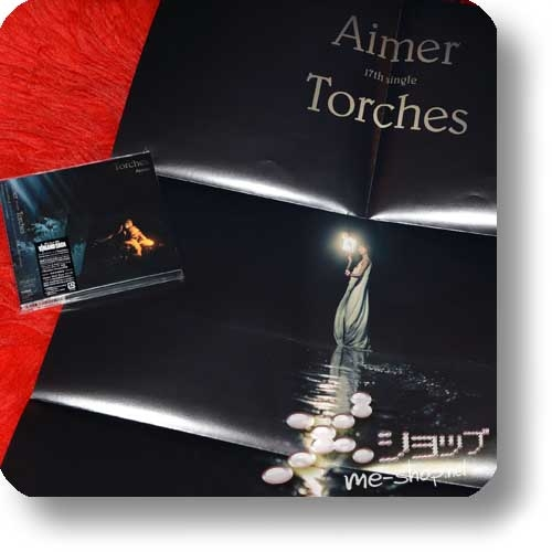 AIMER - Torches (lim.CD+DVD Vinland Saga Edition) +Bonus-Promoposter!-0