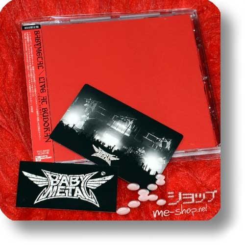 BABYMETAL - LIVE AT BUDOKAN ~RED NIGHT~ (lim.1.Press inkl.Tradingcard)+Bonus-Sticker (Re!cycle)-0