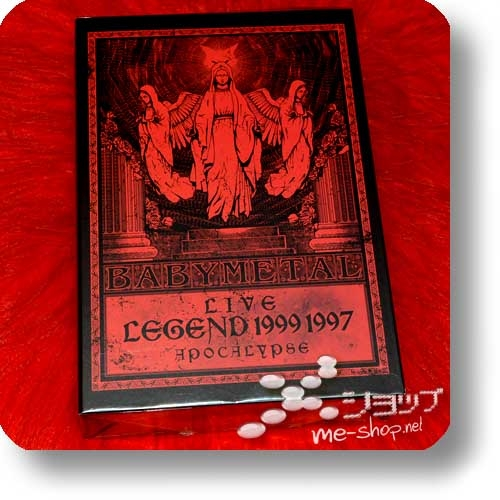 "BABYMETAL - LIVE LEGEND 1999 1997 APOCALYPSE (lim. ""THE ONE"" FC-Boxset Blu-ray+2 T-Shirts Gr.M+3 Desktop-Aufsteller!) (Re!cycle)-0"