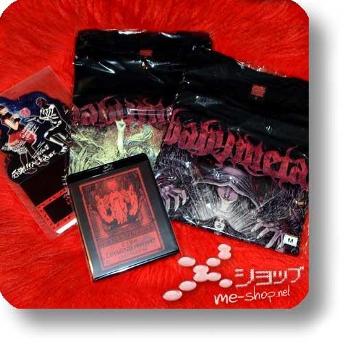 "BABYMETAL - LIVE LEGEND 1999 1997 APOCALYPSE (lim. ""THE ONE"" FC-Boxset Blu-ray+2 T-Shirts Gr.M+3 Desktop-Aufsteller!) (Re!cycle)-28857"