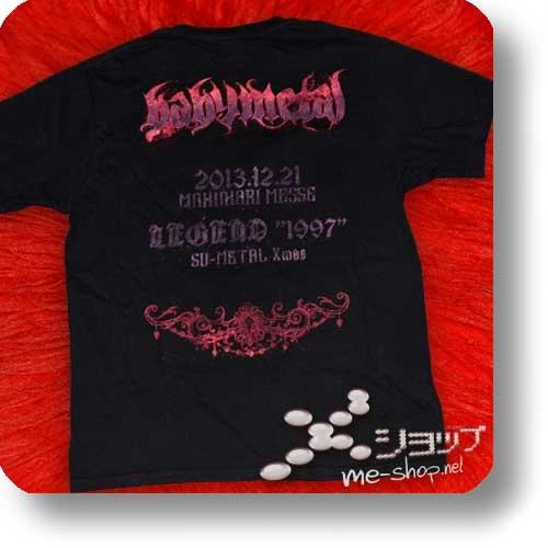 "BABYMETAL - LIVE LEGEND 1999 1997 APOCALYPSE (lim. ""THE ONE"" FC-Boxset Blu-ray+2 T-Shirts Gr.M+3 Desktop-Aufsteller!) (Re!cycle)-27758"