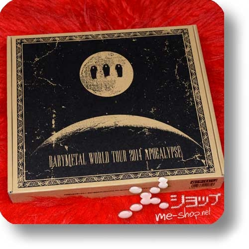 "BABYMETAL - WORLD TOUR 2014 APOCALYPSE (lim. ""THE ONE"" 6-Disc FC-Boxset 4CD+2Blu-ray+Photobook!) +Bonus-Tattooset! (Re!cycle)-27811"