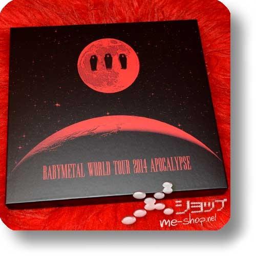 "BABYMETAL - WORLD TOUR 2014 APOCALYPSE (lim. ""THE ONE"" 6-Disc FC-Boxset 4CD+2Blu-ray+Photobook!) +Bonus-Tattooset! (Re!cycle)-27810"